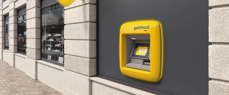 Geldmaat is het nieuwe bankonafhankelijke geldautomatenmerk