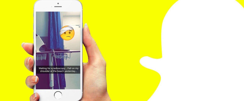 Snapchat: go or no-go? Oordeel zelf!