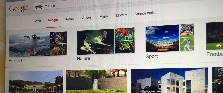 """Moedigt Google Afbeeldingen massale """"diefstal"""" van foto's aan?"""