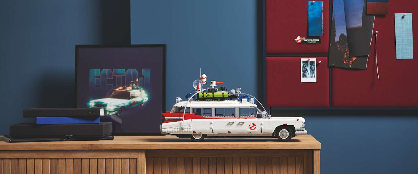 De LEGO Ghostbusters ECTO-1 is een perfect cadeau voor de feestdagen