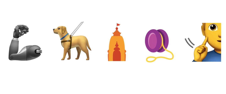 Nieuwe emoji's leggen de nadruk op gelijkheid & emancipatie