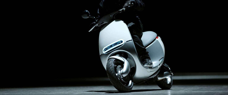 De Gogoro elektrische Smartscooters komen naar Amsterdam