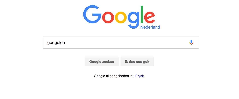 Waarom Google niet blij is dat we met zijn allen 'Googelen'