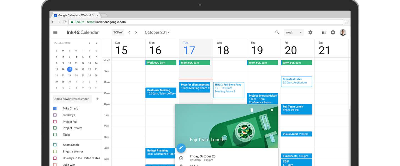 Google past Agenda aan, eindelijk een nieuwe webversie
