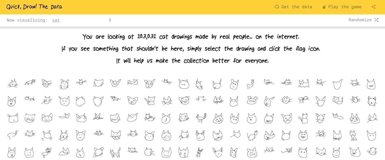 Google laat zien hoe miljoenen mensen hetzelfde voorwerp tekenen