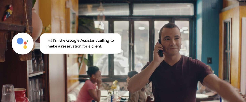 Pratende AI Google Duplex gaat deze zomer live getest worden