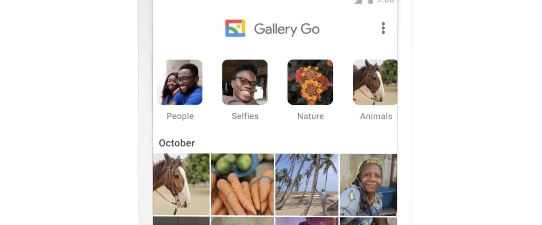 Met Google Gallery Go bewerk je foto's offline