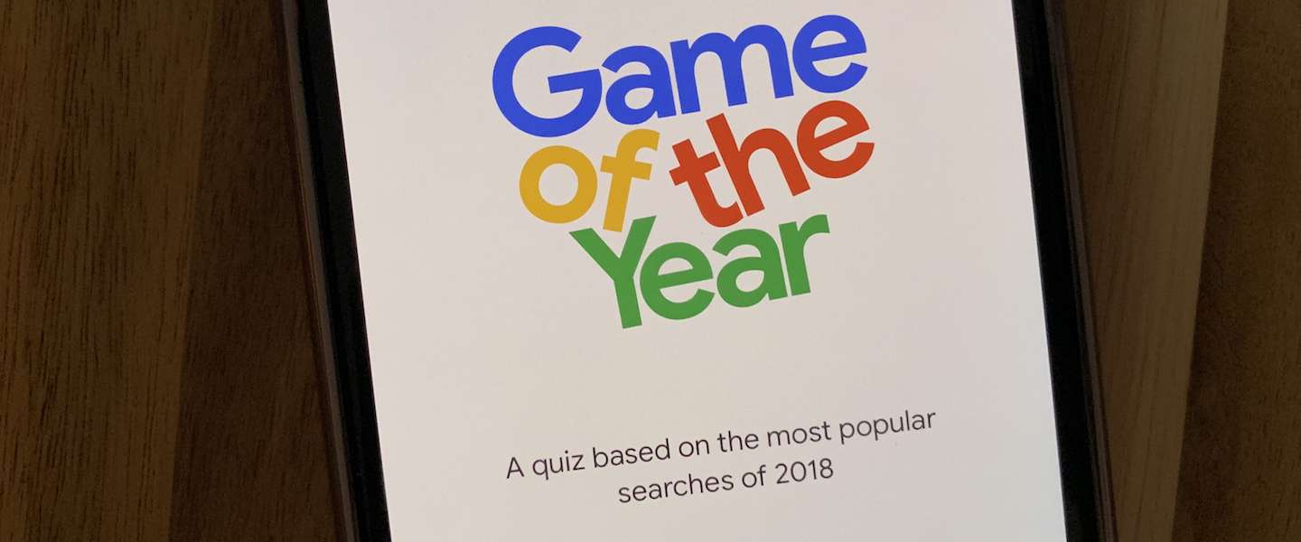 Google Game of the Year test je kennis over zoektrends