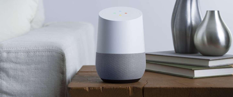 Google Home ligt vanaf vandaag in de winkel