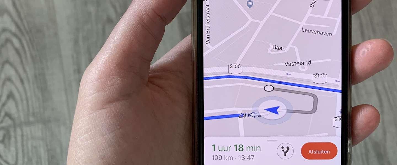 Google Maps voor iOS laat je nu melden waar flitsers staan