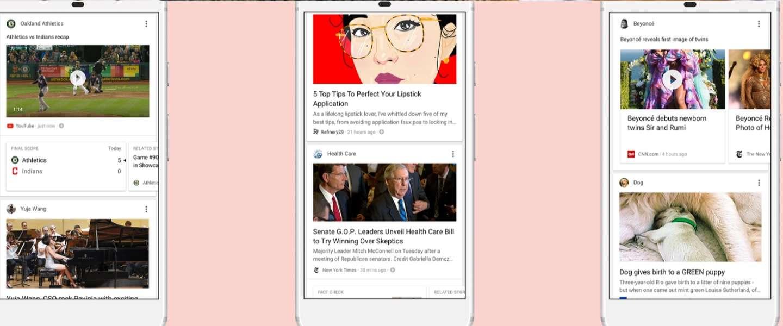Google gaat zoekhistorie gebruiken voor persoonlijke nieuwsfeeds