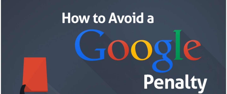 Hoe voorkom je een Google Penalty