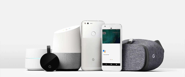Google: van zoekmachine naar hardware-leverancier