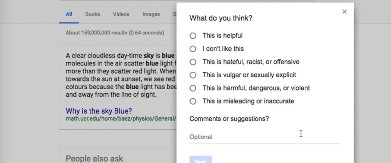Google's 'Project Owl' gaat nepnieuws op drie manieren aanpakken