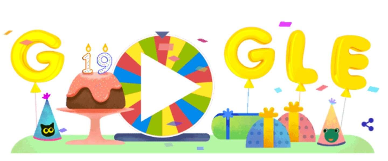 Google viert 19e verjaardag met 19 spelletjes uit eerdere Doodles