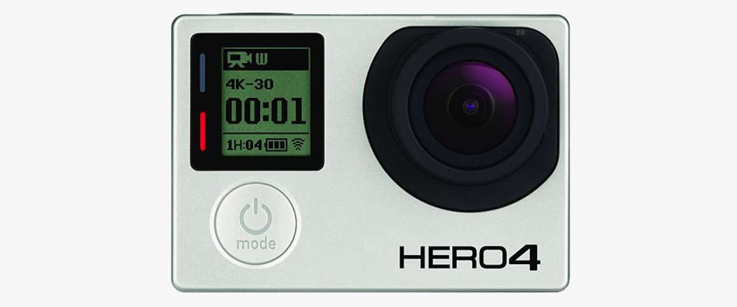 GoPro introduceert HERO4