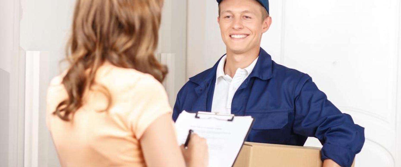 Een gestandaardiseerd pakketlabel geeft extra injectie aan online omzet