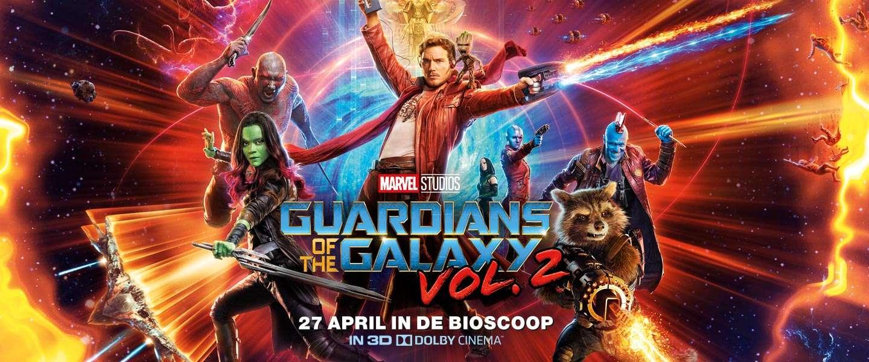 Winnen: 5x2 kaartjes voor Guardians of the Galaxy Vol. 2