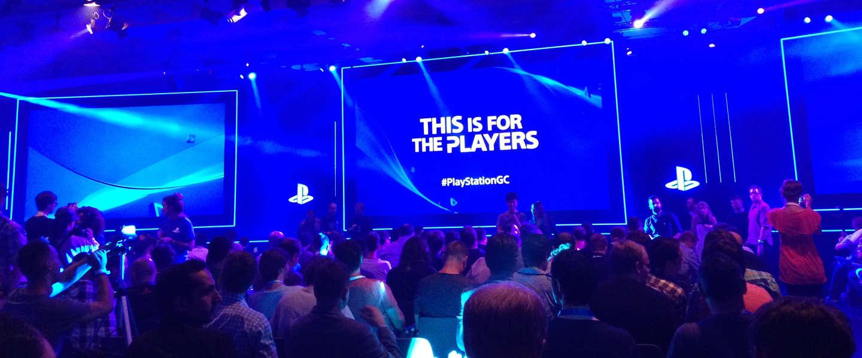 Sony Gamescom persconferentie
