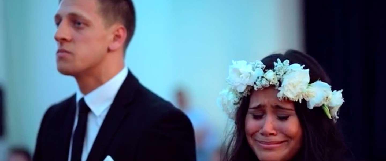 Emotionele Haka tijdens bruiloft geeft je kippenvel