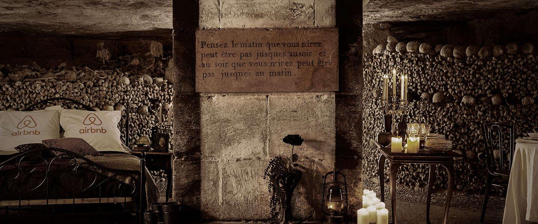 Halloween doorbrengen in 's werelds grootste begraafplaats? De Catacomben van Parijs