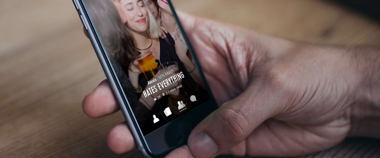 Hater is een dating-app voor mensen die hetzelfde haten als jij
