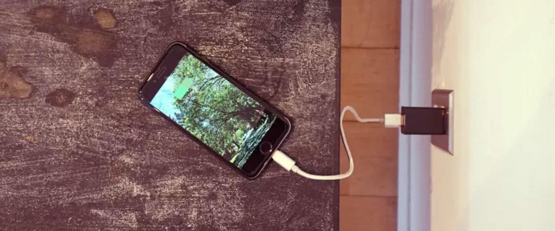Een USB-lader, beveiligingscamera of allebei?