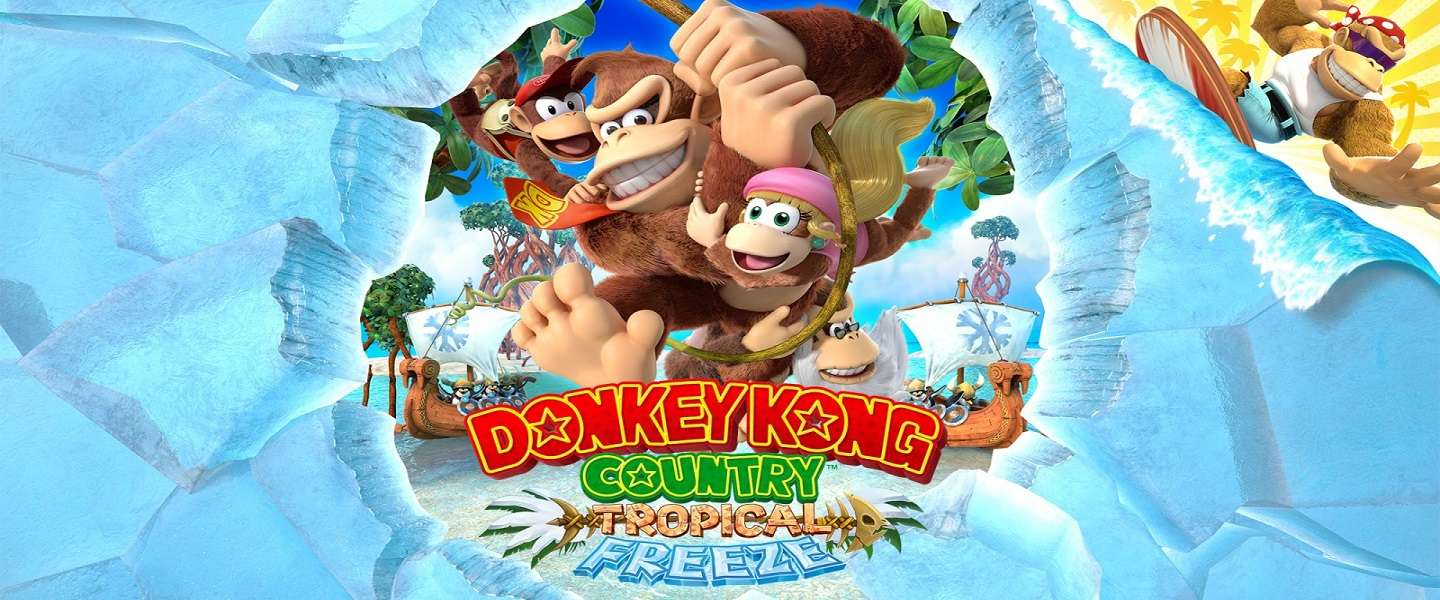 Donkey Kong Country: Tropical Freeze - blij dat 'ie terug is