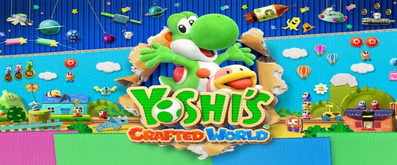 Yoshi's Crafted World: vrolijk en laagdrempelig