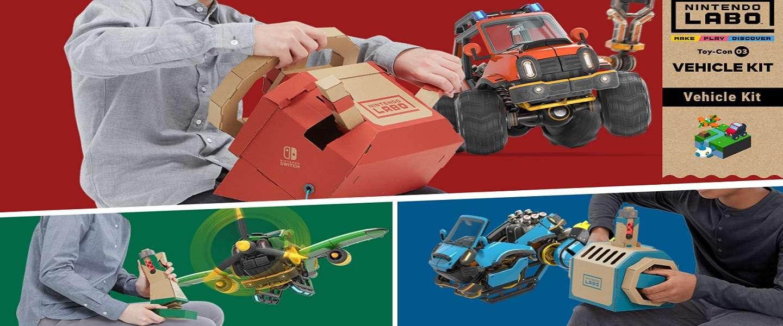 Nintendo Labo 3: lekker voertuigen vouwen