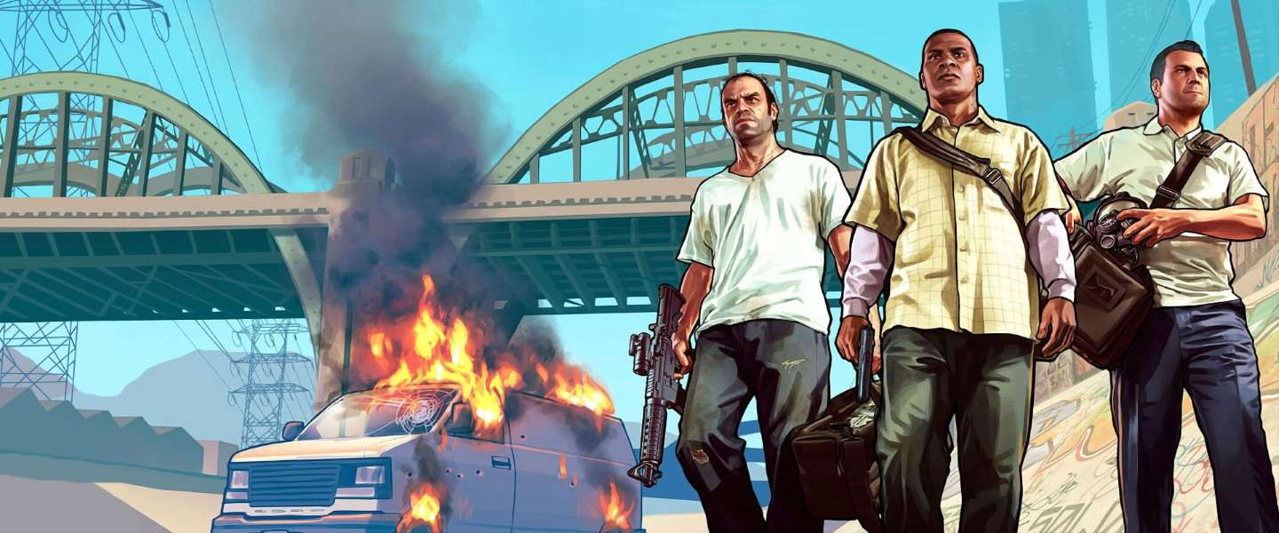 Grand Theft Auto 5 op 18 november uit voor Playstation 4 en Xbox One