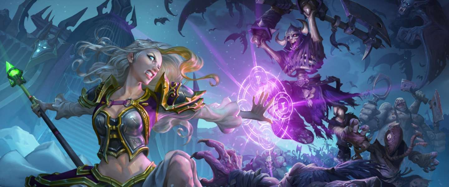 Knights of the Frozen Throne: Hearthstone bezoekt de Lich King