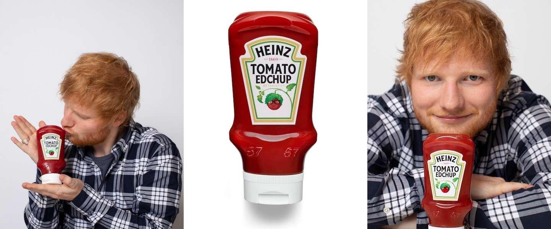 Ed Sheeran & Heinz lanceren 'Edchup'