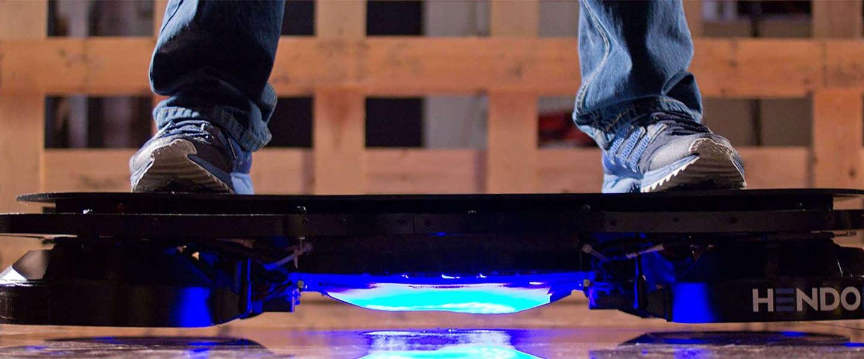 Dit is het Hendo Hoverboard 2.0!