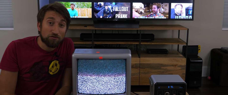 Video: hoe ziet je tv er uit in extreme slowmotion?