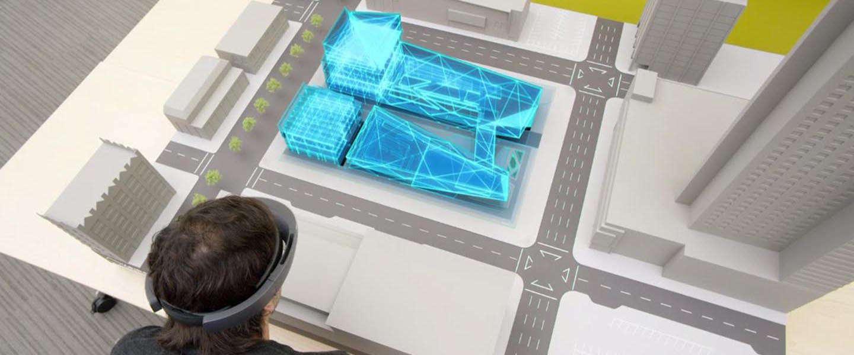 De eerste app voor Microsoft HoloLens in Nederland