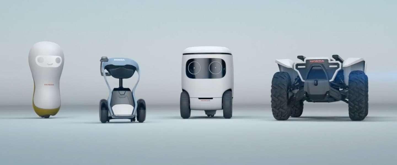 Honda heeft weer wat schattige robots klaar staan voor de CES