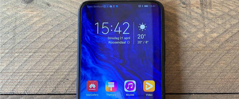 Met de Honor 9X Pro krijg je veel smartphone voor weinig geld
