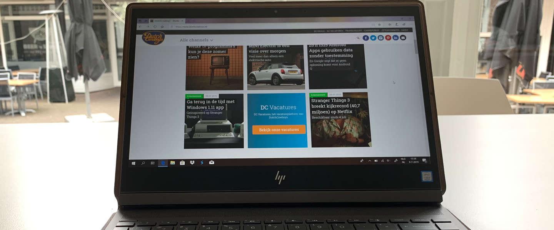 HP Spectre Folio: een multifunctionele laptop met touchscreen