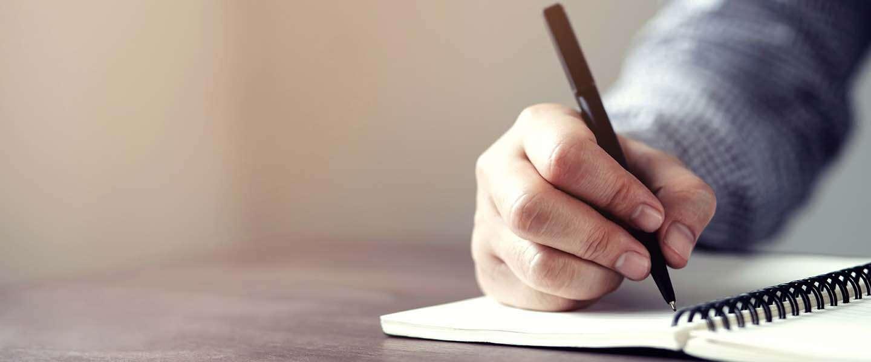 Pen en papier nog altijd essentieel om productief te kunnen zijn