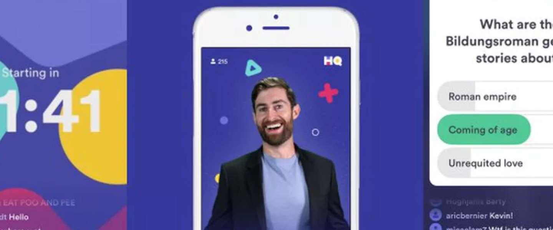 Mobiele trivia-game HQ groeit en de prijzen gaan mee