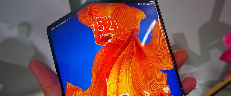 De vouwbare Huawei Mate Xs ligt op 14 april in de winkel