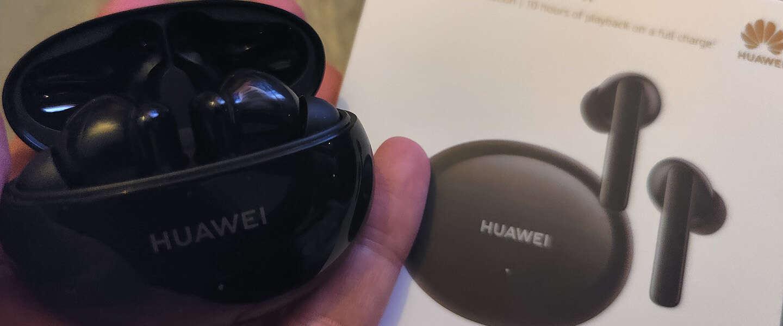 Huawei FreeBuds 4i zijn een flinke verbetering