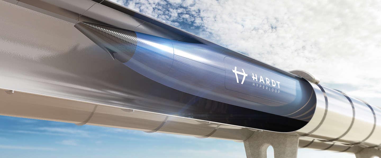 Startup Hardt Hyperloop haalt investering van 1,25M op