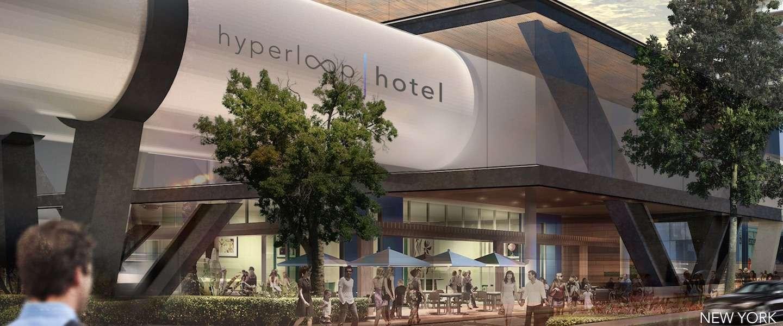 Hyperloop Hotel: reis tussen steden in een luxe hotelkamer