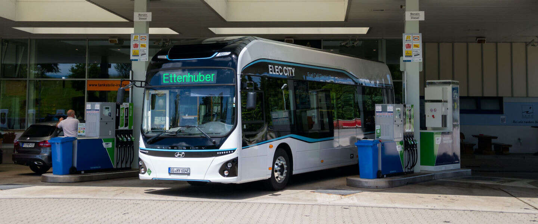 Hyundai test lijnbus op waterstof in de Duitse alpen