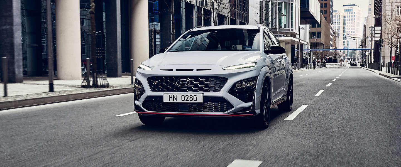 Hyundai onthult nieuwe sportieve Kona N