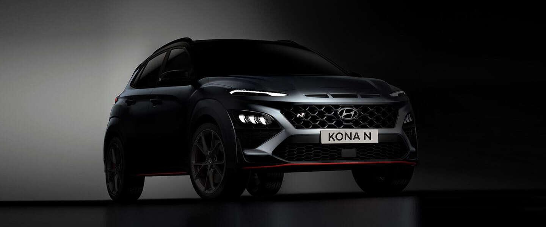 Hyundai toont eerste beelden van de nieuwe Kona N