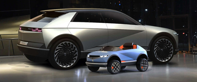 Hyundai komt met elektrische auto voor jonge kinderen