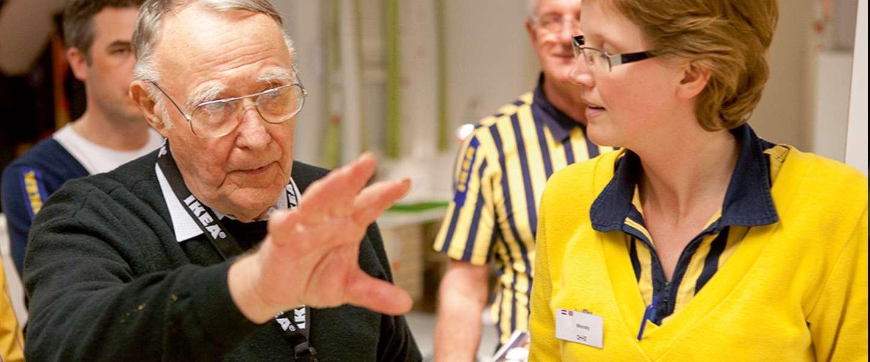 De man achter de IKEA is dood: lang leve de IKEA!